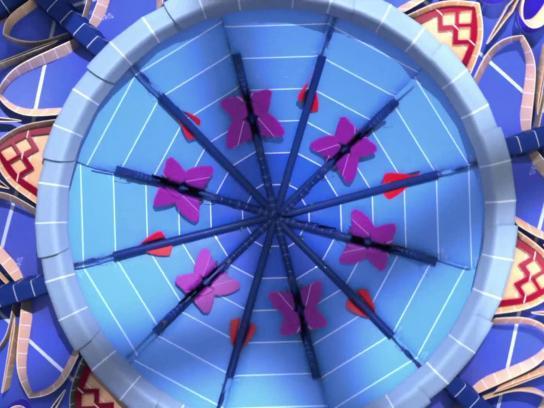 Sherwin-Williams Film Ad -  Kaleidoscope