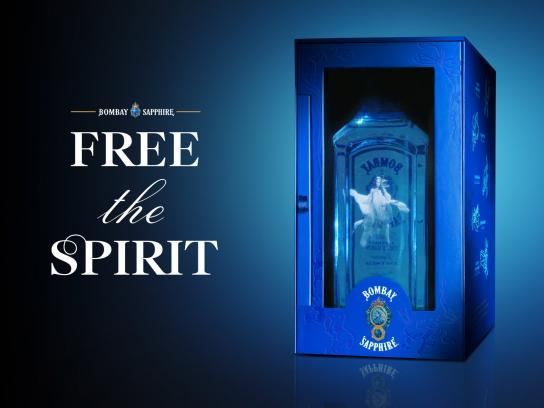 Bombay Sapphire Direct Ad - Free The Spirit