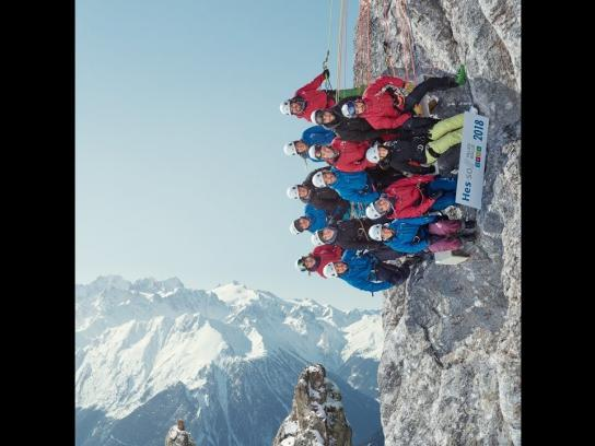 Hes-SO Valais-Wallis Digital Ad - The Very Very High School Class Picture