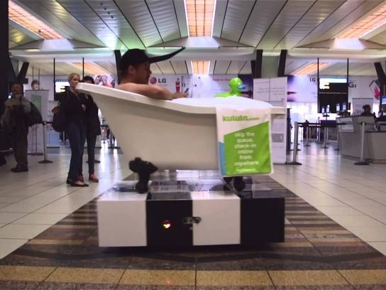 kulula.com Ambient Ad -  Online check-in just got better