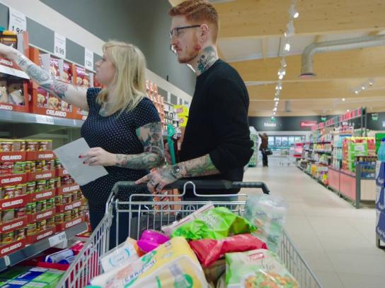Lidl Content Ad - Luke and Amy