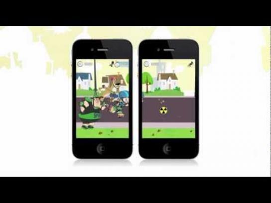Teletoon Digital Ad -  Johnny Test Roller Johnny game app