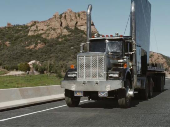 California Lottery Film Ad - Truck