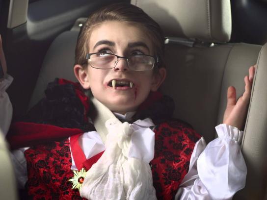 Ford Film Ad -  Vampire Kid