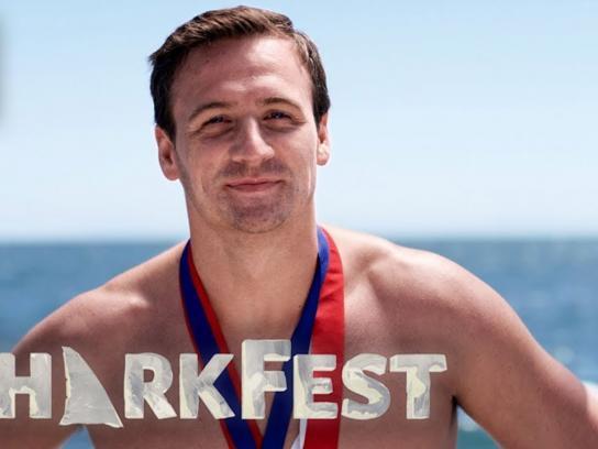 Nat Geo WILD Film Ad - Ryan Lochte Has the 2nd Best Sharks - Shark Fest