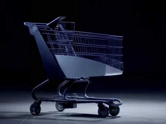Walmart Ambient Ad -  Healthy Shopping Cart