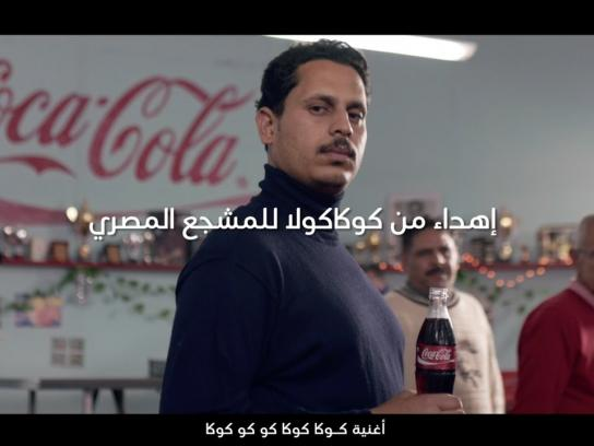 Coca-Cola Film Ad - Courtesy of Coca-Cola to the Egyptian football team fans