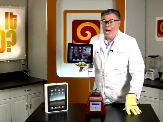 Blendtec Digital Ad -  iPad, Will it blend?