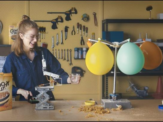 Kellogg's Content Ad - Amazing Creations: Crunchy Nut ft. Simone Giertz