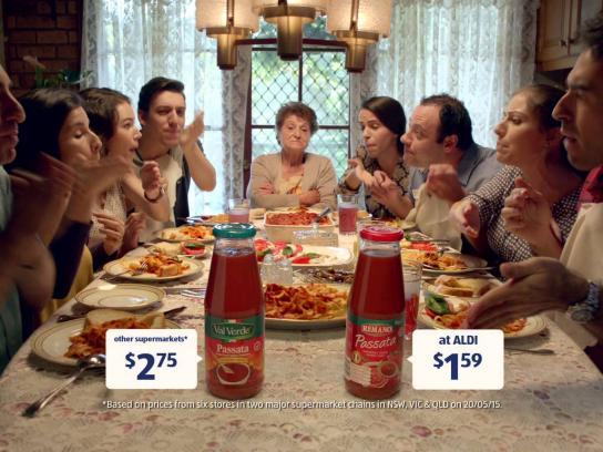 ALDI Film Ad -  Pasta sauce