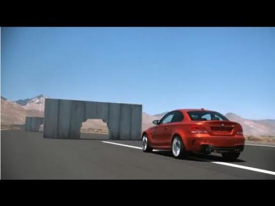 BMW Film Ad -  Concrete walls
