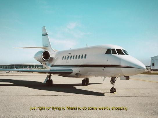 Tinka Lottery Film Ad - Private Jet
