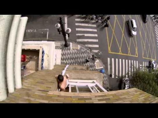 Discovery Channel Ambient Ad -  Couple