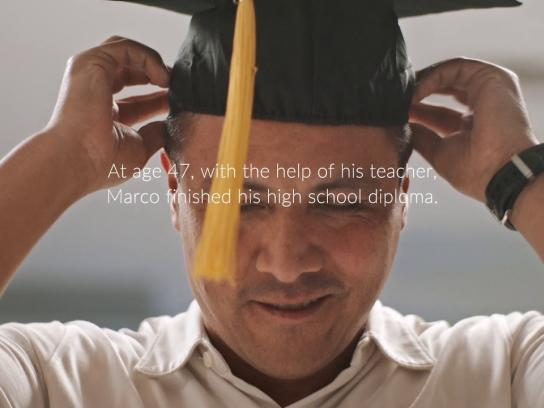 Ad Council Film Ad - Finish Your Diploma - Marco