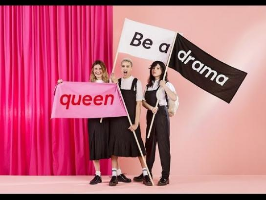Monki Digital Ad - Be a drama queen