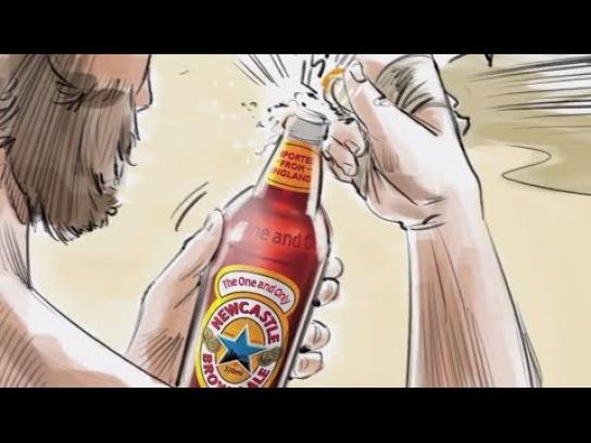 Newcastle Brown Ale Film Ad -  The ad Newcastle made to prepare you for the ad we didn't make