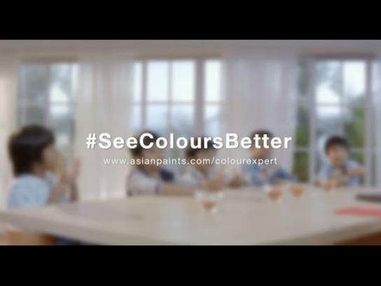 Asian Paints Ambient Ad - Start young