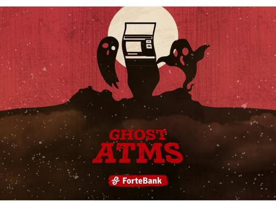 ForteBank Ambient Ad - ATM For Ghosts