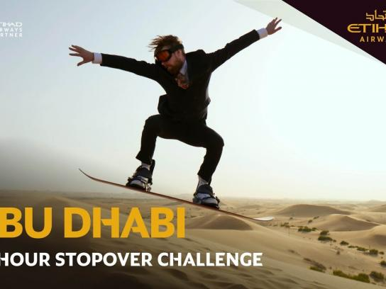Eithad Content Ad - The Abu Dhabi Stopover Challenge