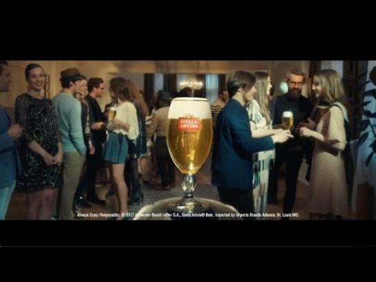 Stella Artois Film Ad - Party Trick