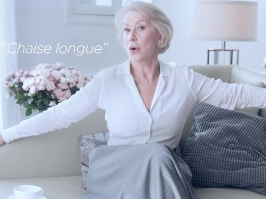 L'Oreal Film Ad - French lessons with Helen Mirren