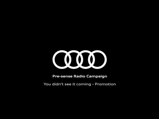 Audi Audio Ad - Promotion