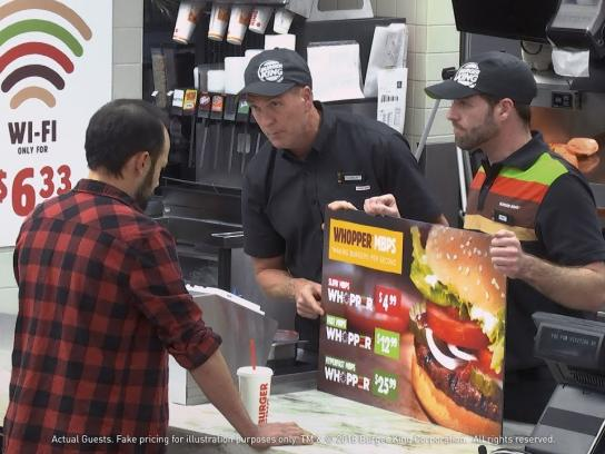 Burger King Film Ad - Whopper Neutrality