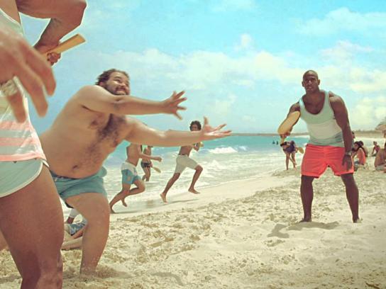 Marseilia Beach 4 Film Ad -  Racket
