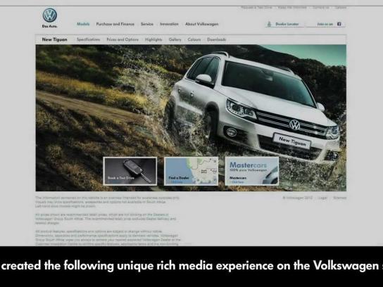Volkswagen Digital Ad -  Explorer Tab