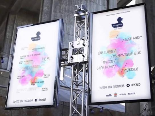 Popaganda Music Festival Ambient Ad -  The Live Quiz Release