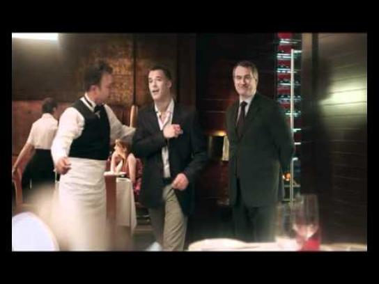 Diners Club Film Ad -  John RIP