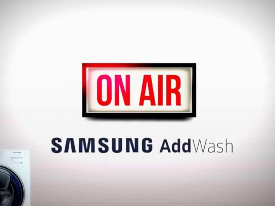 Samsung Audio Ad - Stop your washing machine