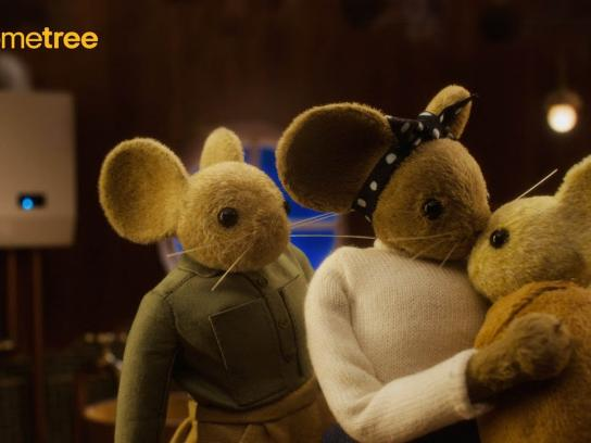 Hometree Film Ad - The Field Family Mice