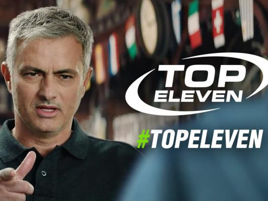 Top Eleven Film Ad - Jose Mourinho challenge