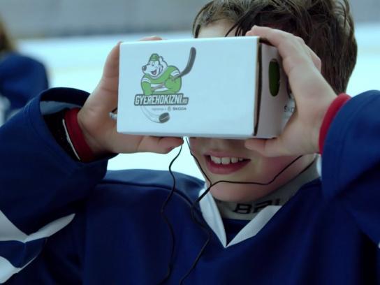 Skoda Film Ad - Ice Hockey