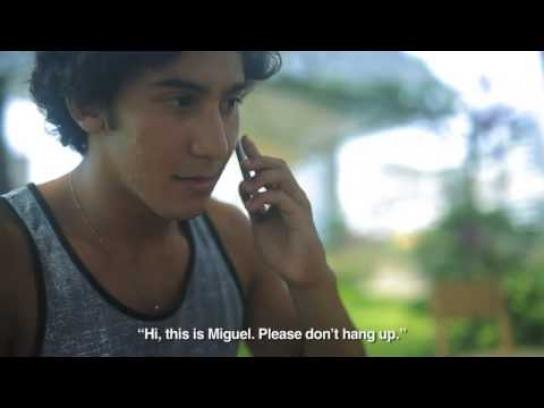 Movistar Ambient Ad -  Peru calling