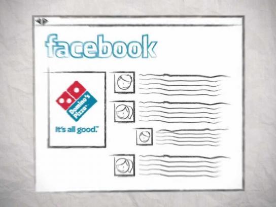 Domino's Pizza Digital Ad -  Social Pizza