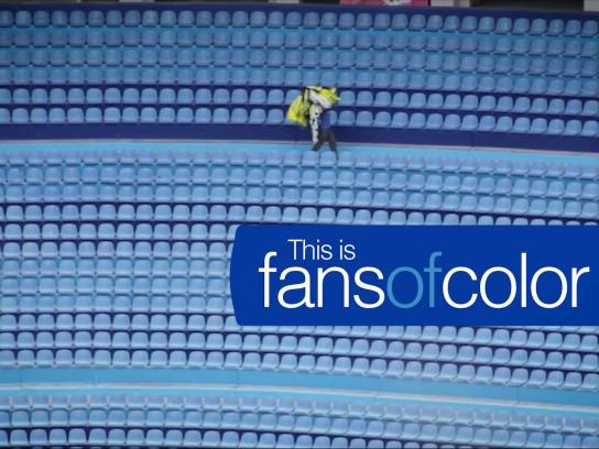 Sherwin-Williams Ambient Ad - Fans of color