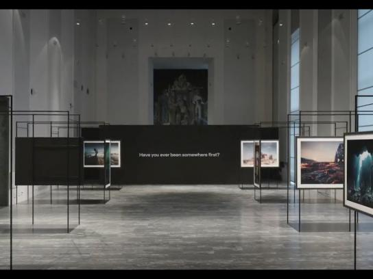 Lufthansa Experiential Ad - Unknown Places - The Exhibition