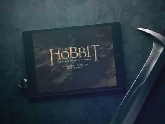 A Journey Through Middle-earth Digital Ad -  Take the journey