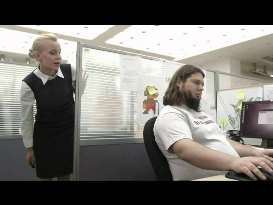Trend Micro Digital Ad -  Cyberheist - The invisible enemy
