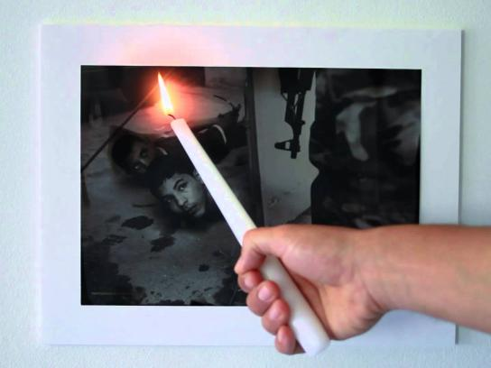 Amnesty International Ambient Ad -  Keep the flame alive