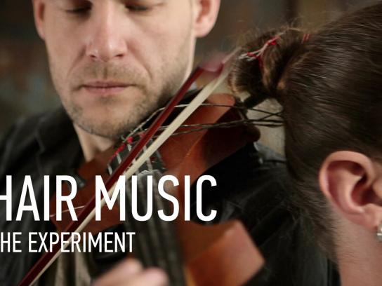 Street Musician's Day Digital Ad -  Hair Music, The Experiment