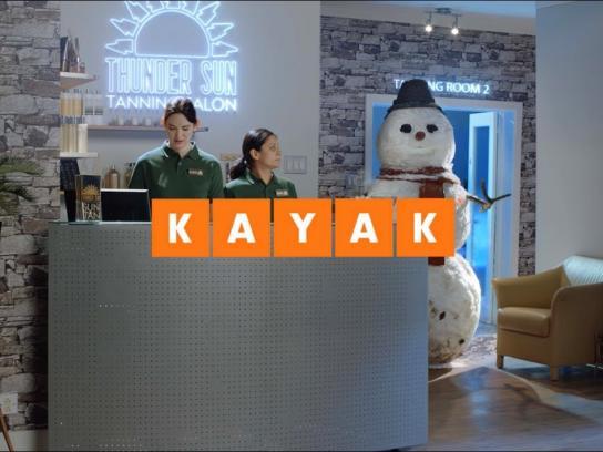 Kayak Film Ad - Snowman
