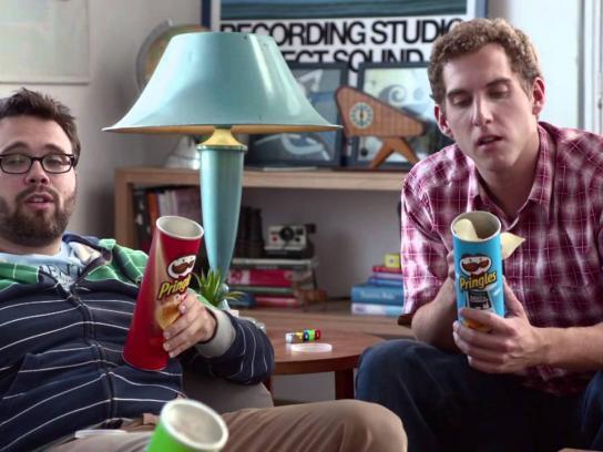 Pringles Film Ad -  Mustache