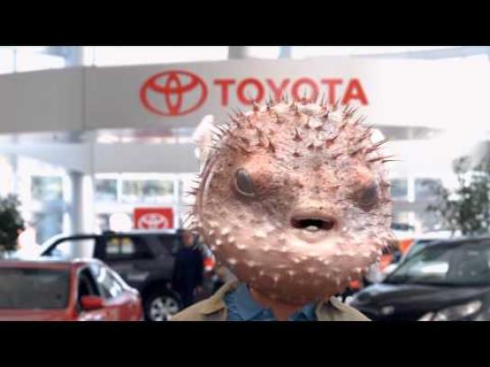 Toyota Film Ad -  Puffer Fish