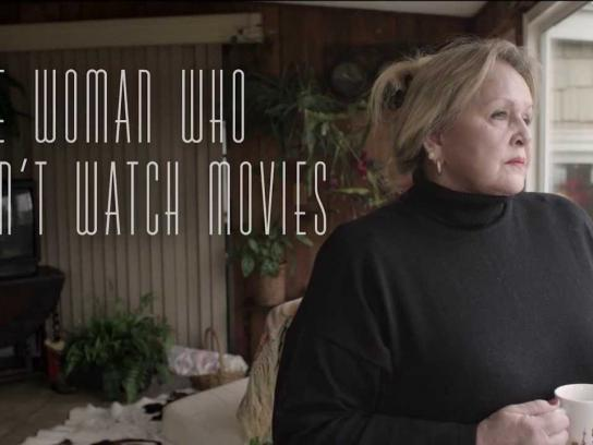 Canal+ Digital Ad -  The woman who can't watch movies