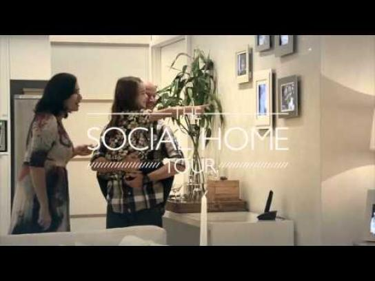 Carvalho Hosken Ambient Ad -  The Social Home Tour