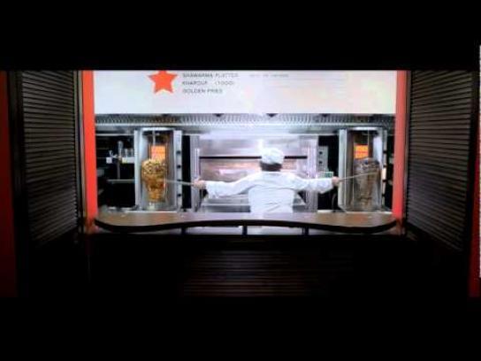Shawarma Republic Film Ad -  DJ spinning shawarma
