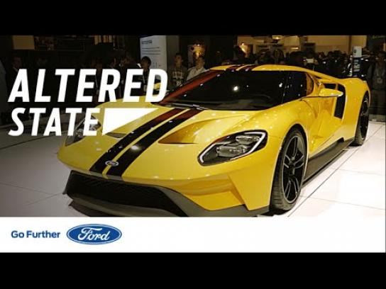 Ford Ambient Ad - Altered state